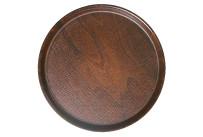 Tablett Pressholz rund 360 mm