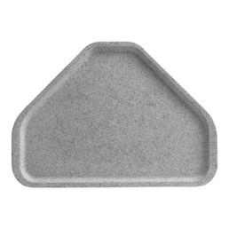 Tablett Polyester Lite trapezförmig 480 x 340 mm granit