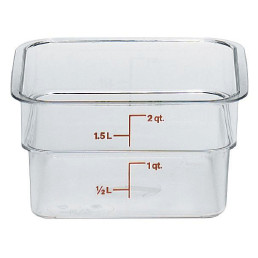 Vorratsbehälter 1,90 l / 185 x 185 x 100 mm