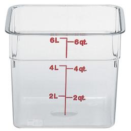 Vorratsbehälter 5,70 l / 215 x 215 x 185 mm