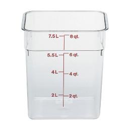 Vorratsbehälter 7,60 l / 215 x 215 x 230 mm