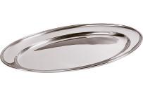 Bratenplatte / Servierplatte oval 50 x 35 cm