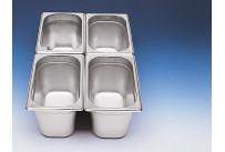GN-Behälter 1/4 Edelstahl 150 mm tief