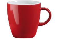 Tasse obere Latte Macchiato rot
