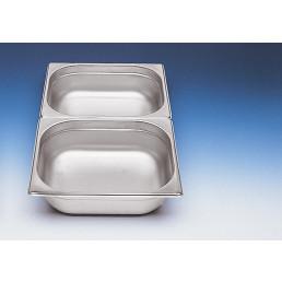 GN-Behälter 1/2 Edelstahl 40 mm tief