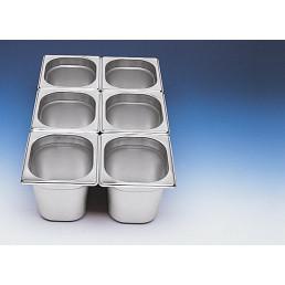 GN-Behälter 1/6 Edelstahl 150 mm tief
