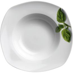 """Pastateller """"Basilikum"""" ø 300 cm quadratisch"""