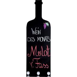"Tafel ""Weinflasche"""