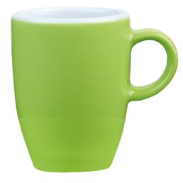 """Tasse obere Espresso """"Barista"""" limette"""