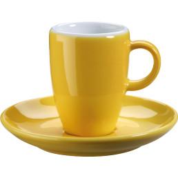 "Tasse untere Espresso ""Barista"" gelb"