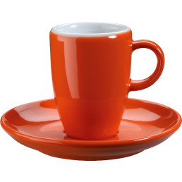 "Espresso-Untertasse ""Barista"" orange"