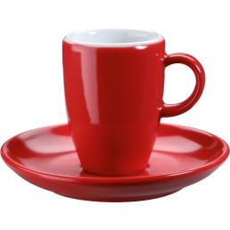 """Tasse untere Espresso """"Barista"""" rot"""