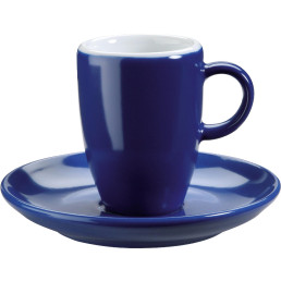 "Tasse untere Espresso ""Barista"" blau"