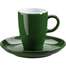 """Tasse untere Espresso """"Barista"""" grün"""