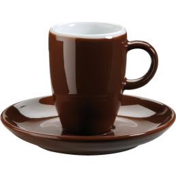 "Espresso-Untertasse ""Barista"" mocca"
