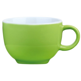 """Kaffee- / Cappuccinotasse """"Barista"""" limette"""