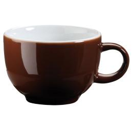 "Kaffee- / Cappuccinotasse ""Barista"" mocca"