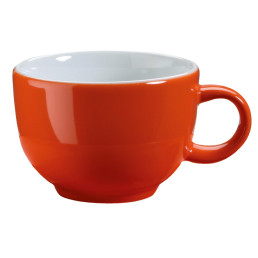 "Kaffee- / Cappuccinotasse ""Barista"" orange"