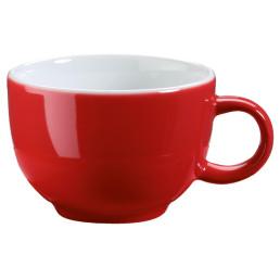 """Kaffee- / Cappuccinotasse """"Barista"""" rot"""