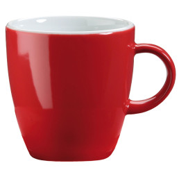 Latte Macchiatotasse rot