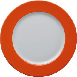"""Teller flach """"Barista"""" 21,5 cm orange"""