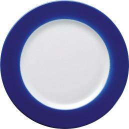 """Teller flach """"Barista"""" 21,5 cm blau"""