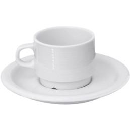 """Kaffee-Untertasse """"Oslo"""" Hotelporzellan"""