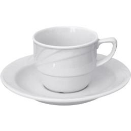 "Kaffee-Untertasse ""Nizza"" Hotelporzellan"