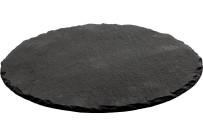 Naturschiefer-Buffetplatte rund ø 25 cm