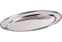 Bratenplatte / Servierplatte oval 35 x 22cm