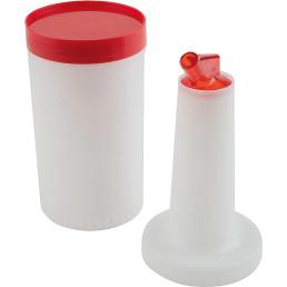 Dosier- / Vorratsbehälter rot