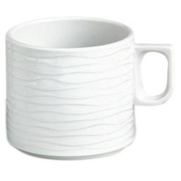 """Kaffeetasse """"curved"""" Hotelporzellan"""
