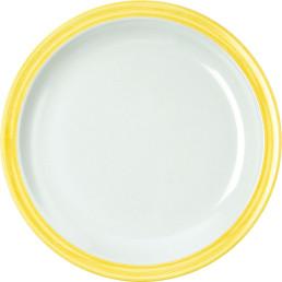 """Teller flach """"Colour"""" 23,5 cm gelb"""