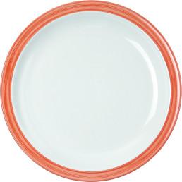 """Teller flach """"Colour"""" 23,5 cm orange"""