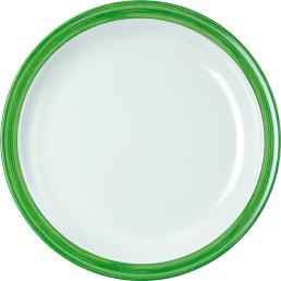 """Teller flach """"Colour"""" 23,5 cm grün"""