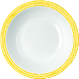 Teller tief gelb