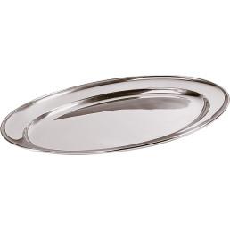 Bratenplatte / Servierplatte oval 25 x 18 cm