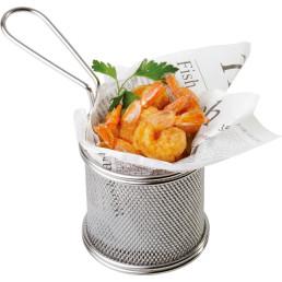 Mini-Servier-Frittierkorb rund