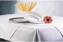 Tischdecke Damast 80 x 80 cm