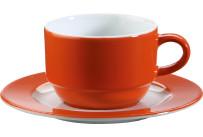 Tasse untere 'System color' orange