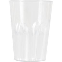 Glasserie Polycarbonat Whiskeyglas, 250 ml
