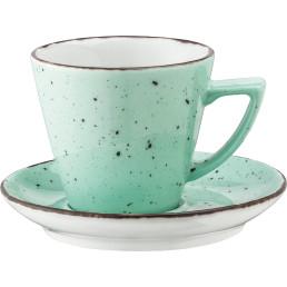 """Kaffee- / Cappuccino-Untertasse """"Granja"""" mint"""