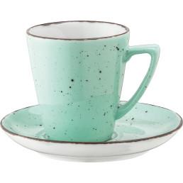 """Kaffee Grande-Untertasse """"Granja"""" mint"""