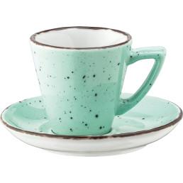 """Espresso-Untertasse """"Granja"""" mint"""
