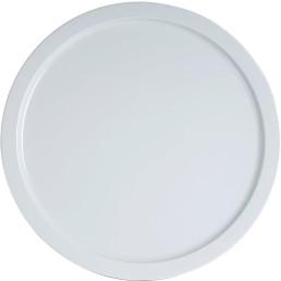 Pizzateller weiß Ø 33 cm, mit Fahne, High Aluminia