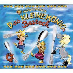 """Kinderbesteck """"Der kleine König"""" 4-tlg. 18/10 poliert"""