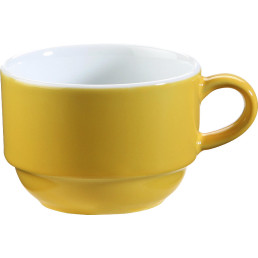 "Tasse ""System color"" 0,18 l gelb"