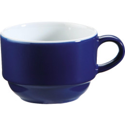 "Tasse ""System color"" 0,18 l blau"