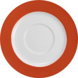 """Untertasse """"System color"""" ø 15 cm orange"""