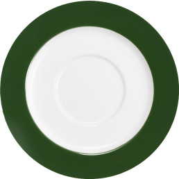 "Untertasse ""System color"" ø 15 cm grün"